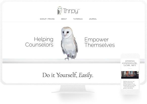 Counselor Website Design Examples