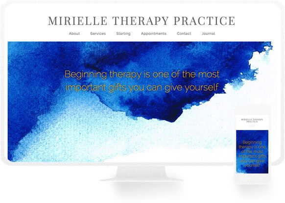 Therapist Website Design Examples